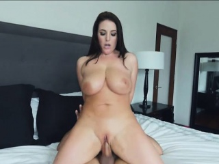 Angela White titty fuck and screwed everlasting by beamy schlong