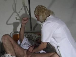 Nurse check cock lay siege to