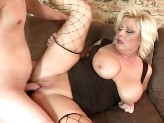 Broad in the beam moms more big gut blow with an increment of fuck sons