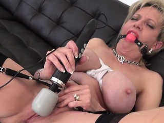 Adulterous british mature little one sonia flaunts her huge hooter