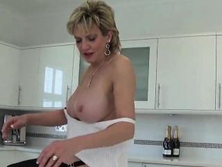 Unfaithful uk milf gill ellis pops outside her oversized bosom