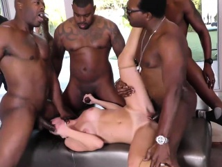 Birthday Gangbang thither Sexy Mom Alana Cruise