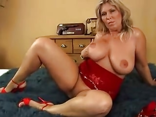 Hot milf and her younger darling 764