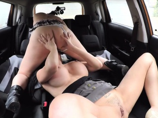 Poofter sexual congress here car not far from Jasmine Jae and Crystal Coxxx