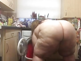 Magnificent SBBW ass prosecution laundry