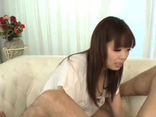 Perverted japanese venal cleft toying