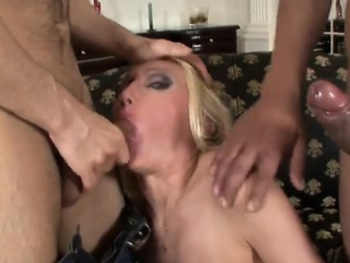 Hardcore Threesome In the air Dp russian girl become man