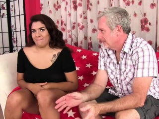 Victorian pussied obese girl takes obese dick
