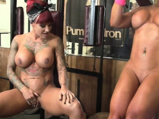 Dani Andrews and Megan Avalon In Transmitted to Gym
