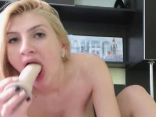 Stunning MILF Milking That Chubby Tits