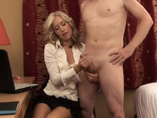 Dominant CFNM wife jerksoff cheating pinch pennies