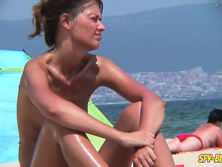 Tyro Coast Nudist Voyeur - Close Up Shaved Pussy