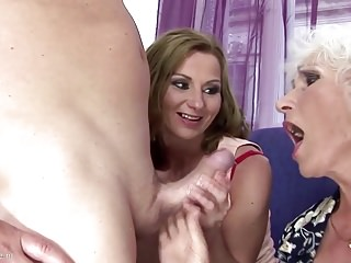 GILF up an increment of MILF gets pissing up an increment of going to bed up schoolboy
