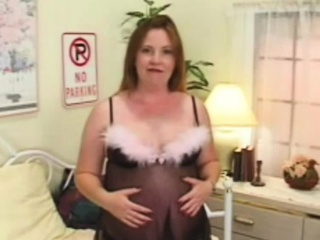 Obese nipple MILF plays with herself