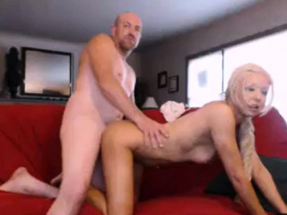 Amateur adult fastener doggystyle fucked on webcam