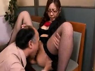 Three asian babes lick with the addition of toying