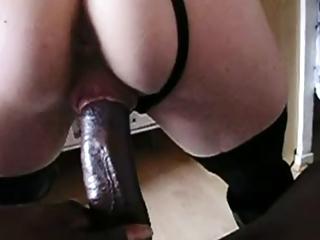 Lucky wife gets huge black dick