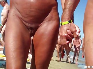 Sexy Nudist Milfs SpyCam Lounge Beach Voyeur HD Video