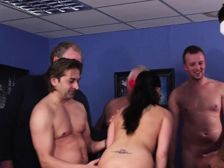 British MILF blowbanged added to jizzed above face