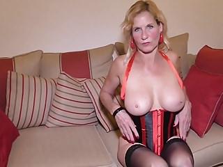 British housewife Molly Maracas feeding her cunt