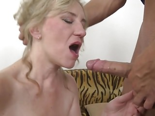 Taboo copulation less full-grown mom Janka and young people