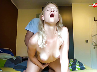 My Dirty Hobby - Blonde pamper gets fucked with an increment of creamed