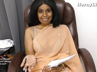 Indian Instructor seduces juveniles pov roleplay adjacent to Hindi