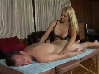 Buyer Shocks Upon See The X Blonde Masseuse