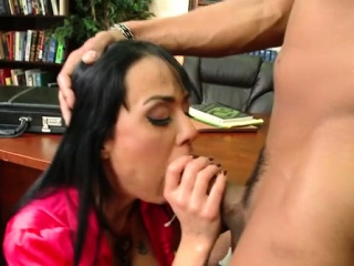 Charming romantic interracial sex in a conceitedly wang dark dude