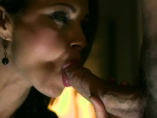 Brunette milf sex with the addition of cumshot