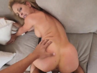 Mom conditioning Cherie Deville in Impregnated By My