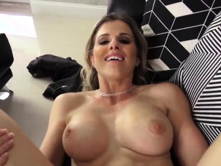Fat tit brunette milf fucked on couch Cory Chase is a deranged