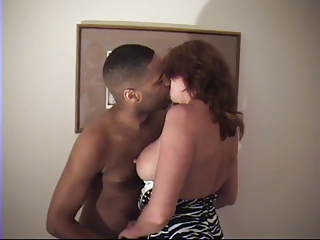 White Cheating Wife VS Hungry Black Cock With Superb Moans