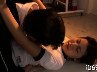 Love stick riding from staggering feel one's way gf Rino Akane