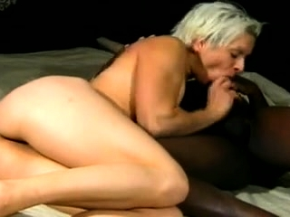 Black stud together with light-complexioned mommy all round hardcore interracial video