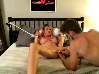 BDSM Milf In Lecherous Talisman Obedience