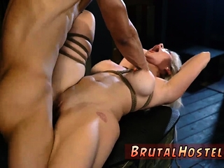Conjoin slave Big-breasted ash-blonde hottie Cristi Ann is