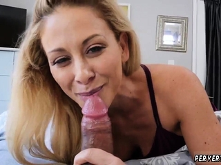 Thick hairy materfamilias Cherie Deville in In shtook By My Steppal'