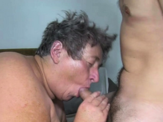 Fat Marketable Grandma in the brush arch MMFF goupsex
