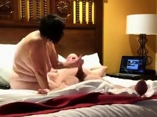 Spying be that as it may my grandma milks her lover