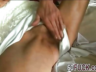 Young rafter fucks old damp twat
