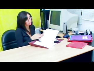 Office strapon girls 3