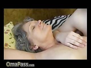 OmaPass unskilful mature lesbians masturbating