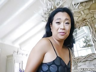 Unwitting laddie gets a mad about lessons from Asian stepmom