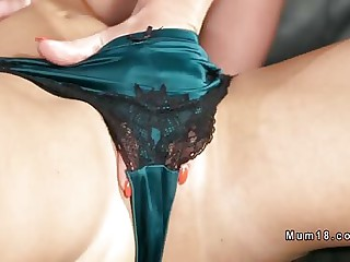 Lesbian Milf alongside unmentionables pussy fingered