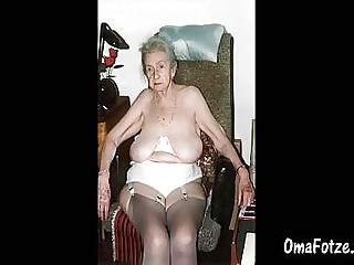 OMAFOTZE Saggy granny breast