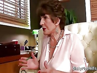 MILF sexologist fucks her patient off out of one's mind SixtyPlusMilfs