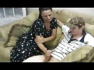 porn videos Stacey's Mom - Veronica Cfnm Handjob