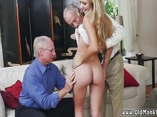 Old chub together with russian young fuck mom It took some