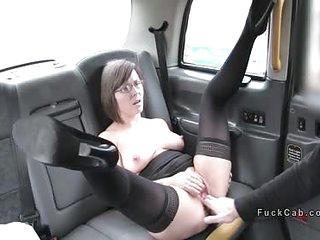 Hot mom rims added to fucks fake hansom cab parlour-maid